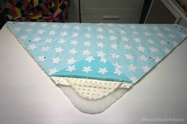 Сшить одеяло из синтепона на выписку