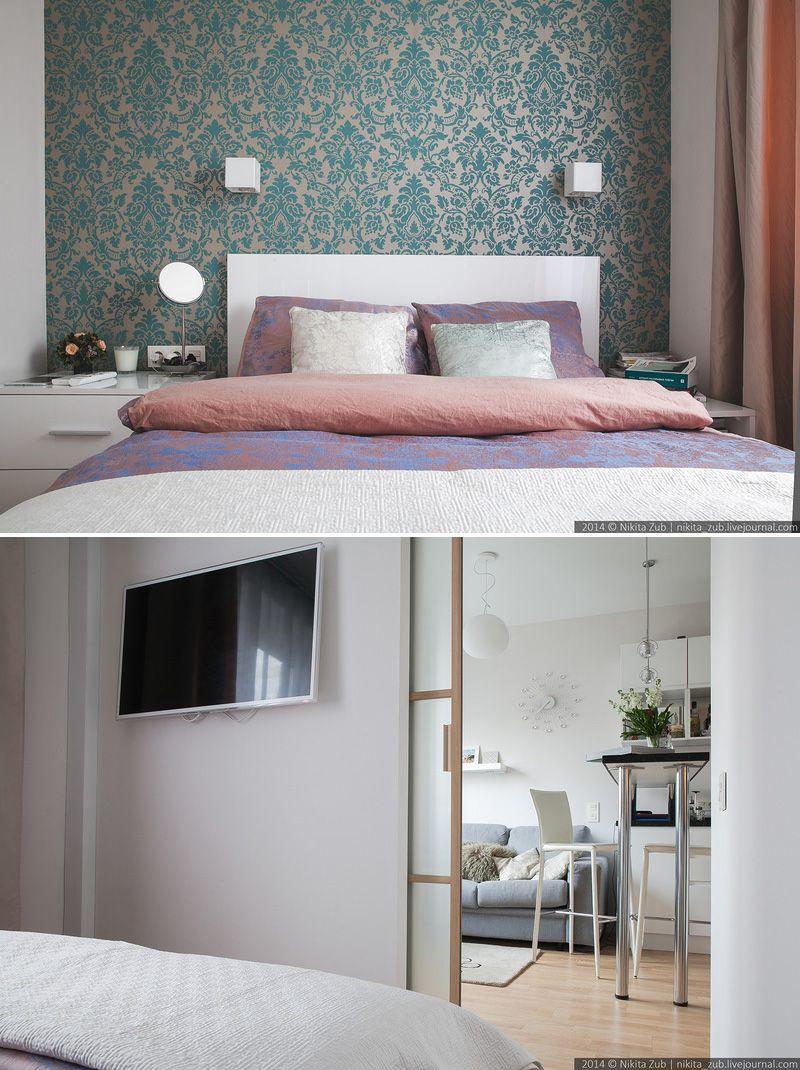 Отличный интерьер в маленькой квартире в Питере