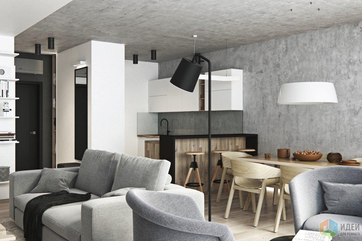 Квартира в стиле современный минимализм