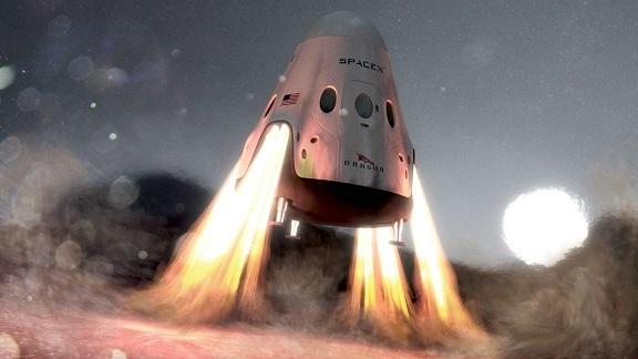 Компания SpaceX отложила надва года первый полет своего корабля наМарс