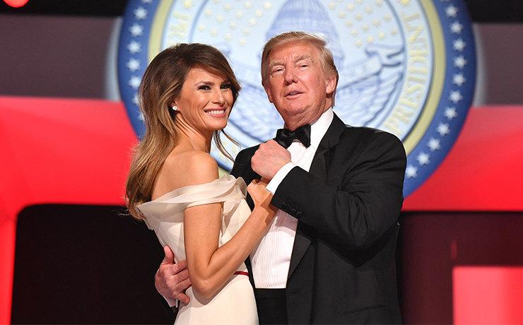 Первая пара США — что язык тела говорит об отношениях Дональда и Меланьи Трамп