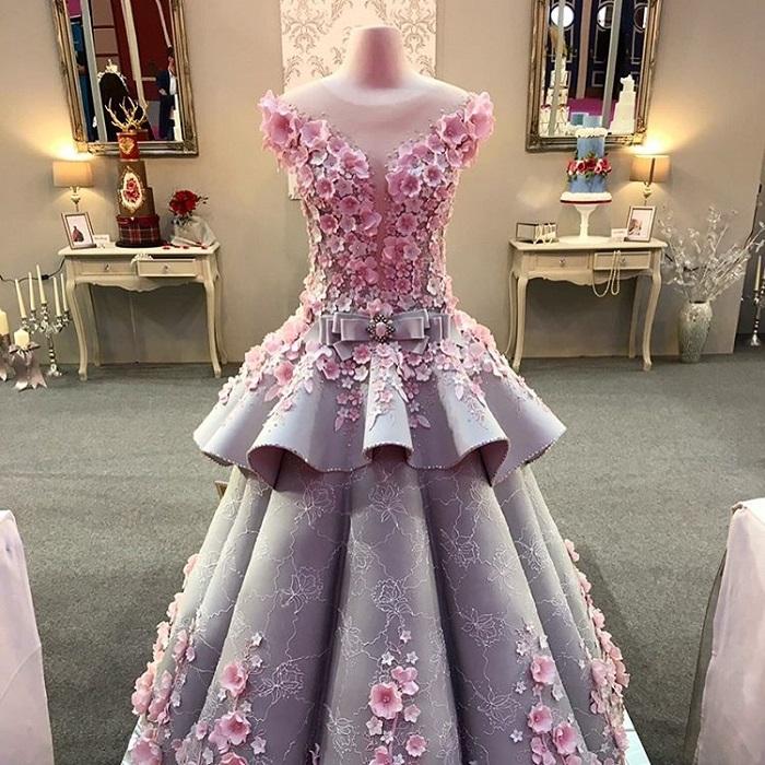 Dress-cake от кондитера Emma Jayne очень сложно отличить от оригинала