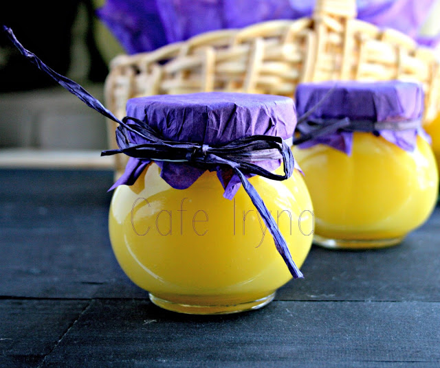 Лимонный курд, или заварной крем на основе лимонного сока