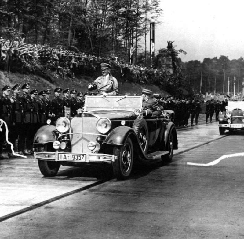 Фюрер построил автобан автобан, германия, дороги