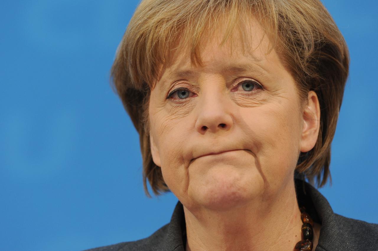 Меркель ушла от ответа на вопрос о своем выдвижении на пост канцлера в 2017 году