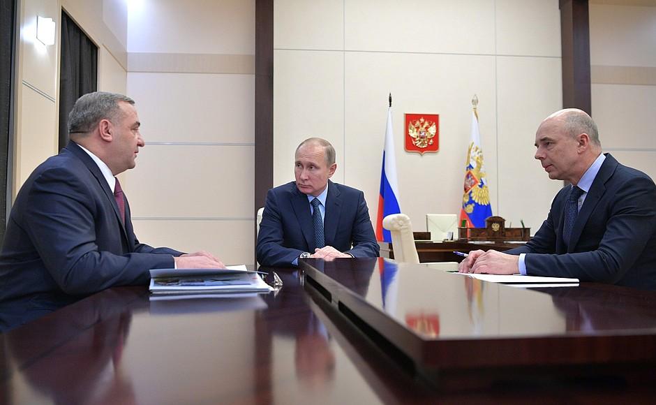 Встреча с Владимиром Пучковым и Антоном Силуановым