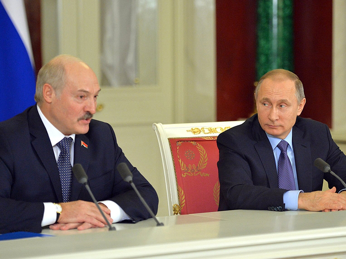 Демарш Лукашенко по нефтегаз…