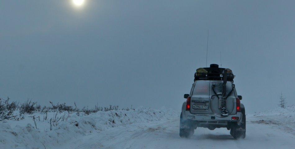 Как не замерзнуть в заглохшем автомобиле