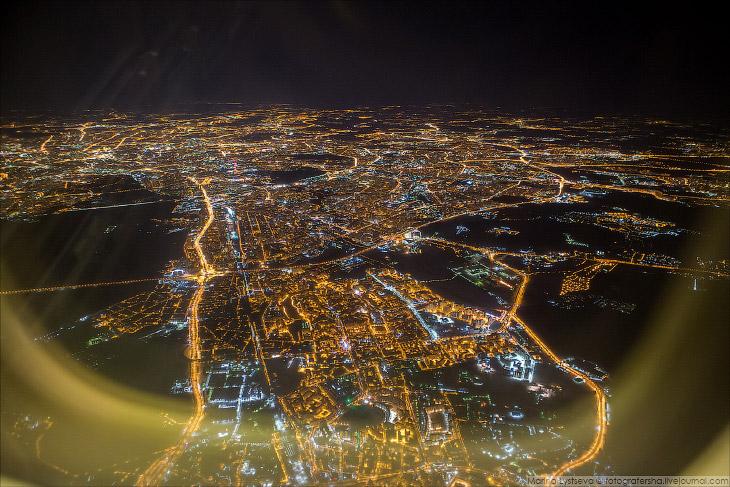 Новые виды ночной Москвы