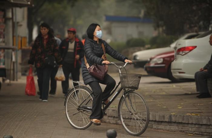 Атмосферное загрязнение в Китае