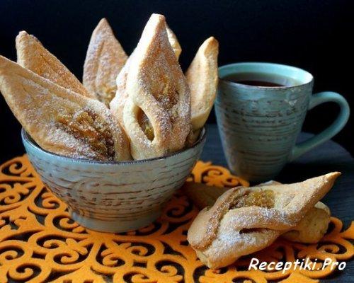 Ароматное яблочное печенье – быстро, вкусно и просто
