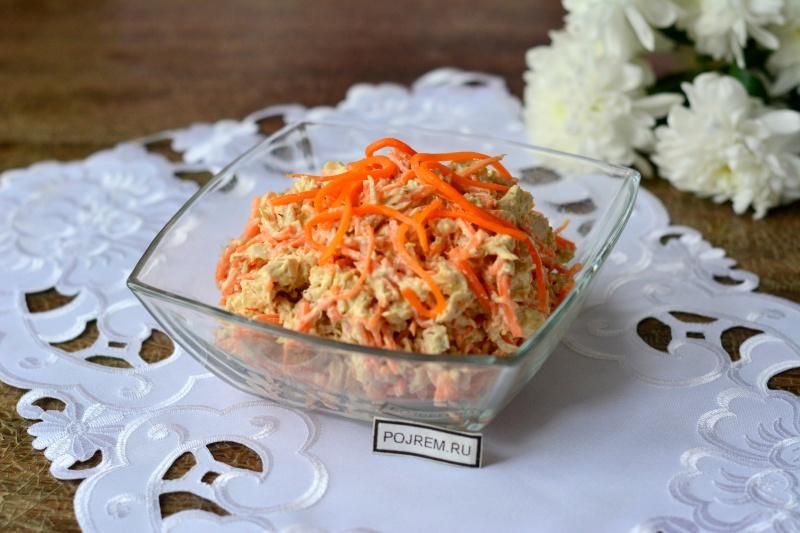 Как сделать салат с куриной грудкой и ананасами