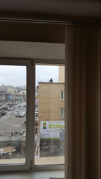 «Крысиного снайпера» сняли с крыши в Красноярске