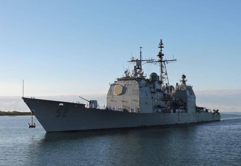 """ВМС США приняли решение о списании шести крейсеров класса """"Тикондерога"""""""