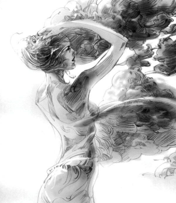 художник Zhang Weber графика – 03