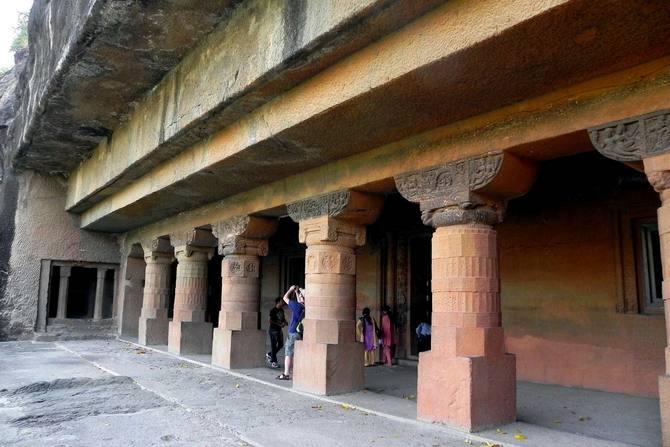 Пещера Аджанты в Индии