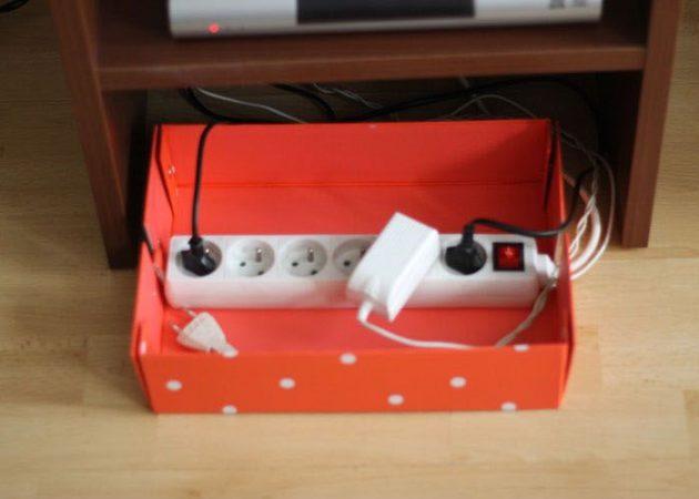 Идеи для дома — как спрятать провода
