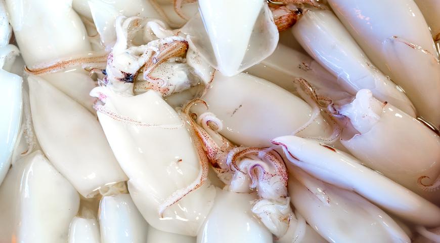 Секреты работы с кальмарами: выбираем, чистим, готовим