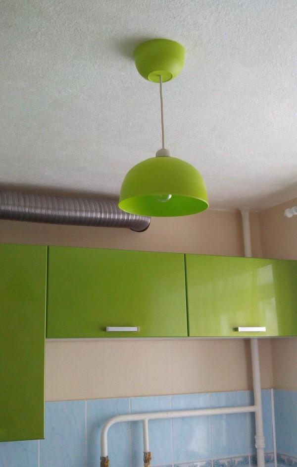 Люстра на кухню своими руками