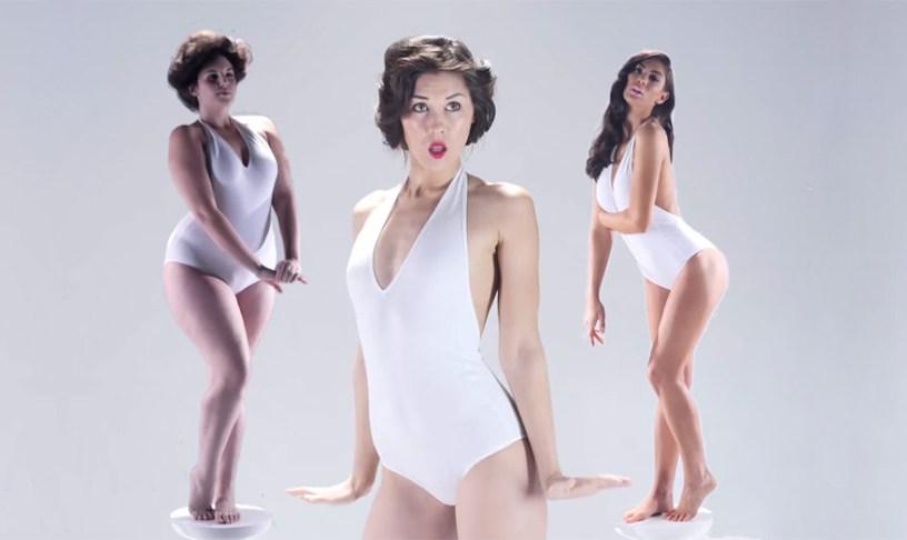 Идеал женской красоты на про…