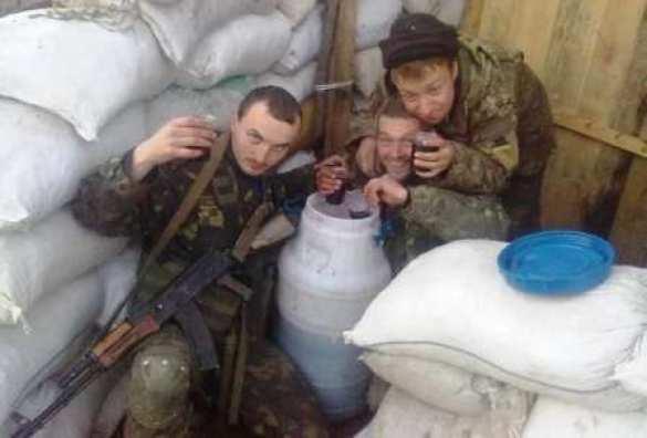 В«зоне АТО» украинский офицер смог угомонить пьяного подчинённого только выстрелом вногу