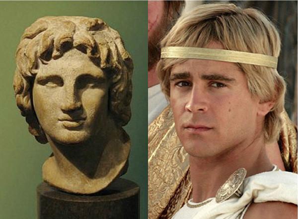 Актеры в образе исторических личностей