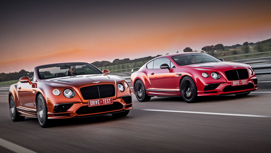 Тест-драйв: Провожаем Bentley Continental GT за рулём версии Supersports