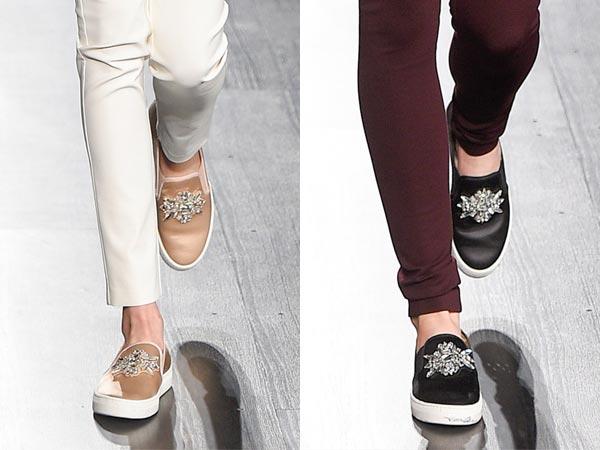 Модные слипоны для осени 2017 Barbara Bui