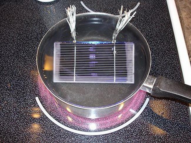 Солнечный радиатор своими руками 1159