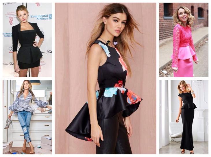 Одежда с баской: платья, юбки, жакеты — кому идет и как носить
