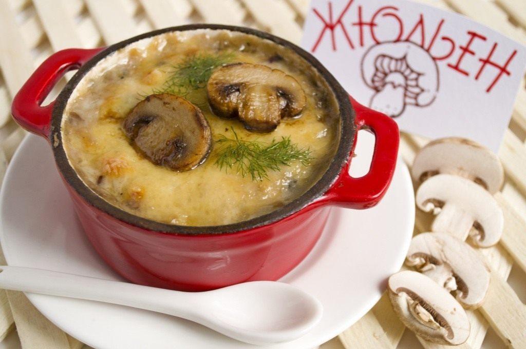 Жульен из белых грибов - царское блюдо! В какие блюда можно добавить мёд?