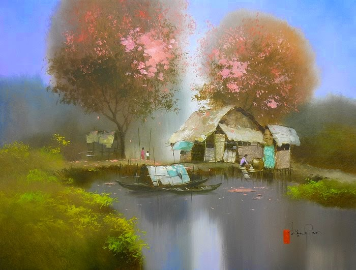 художник Dang Van Can - 04