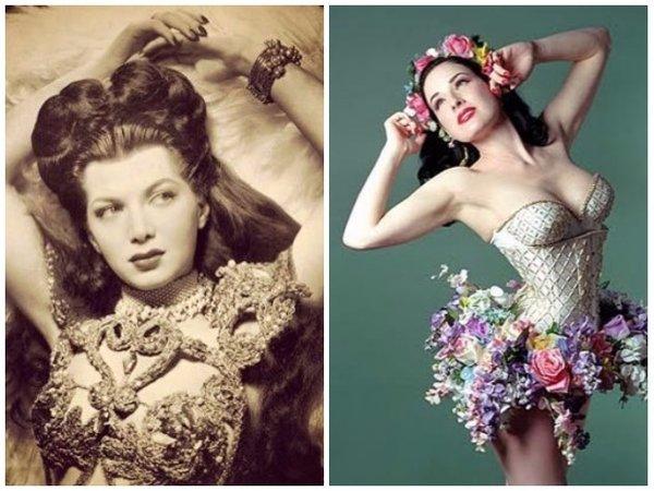 Королевы бурлеска и их судьбы в фотографиях