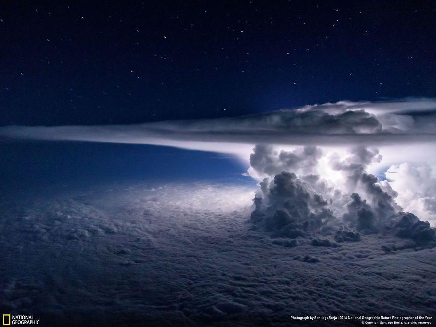3. Буря над Тихим океаном.