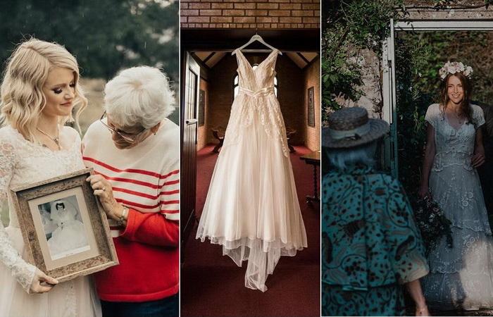 Свадебные наряды из прошлого: Как любящие внучки радовали своих бабушек и мам