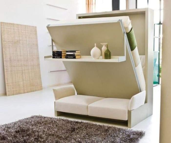 Мебель-трансформер, созданная для маленьких квартир