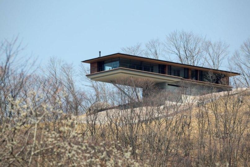 Парящий дом в Ятсугатаке