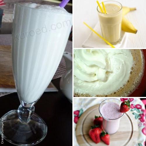 Молочные напитки (подборка)