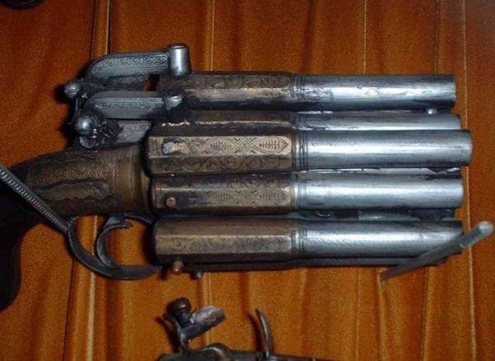 Редкое кремневое оружия