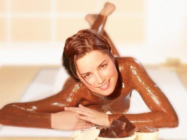 Шоколадное обертывание в домашних условиях.