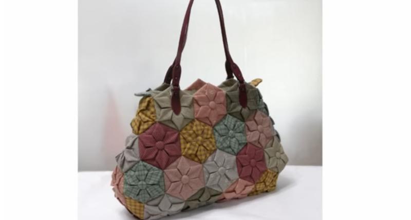 Оригинальная стегальная сумочка своими руками