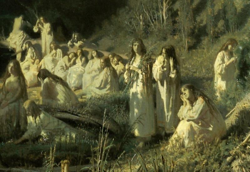 Об этой картине Крамского ходят легенды.  С ней вечно творится мистика!