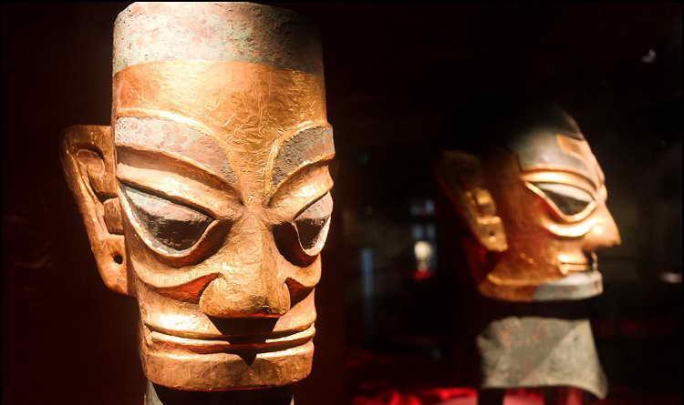 Китайские таинственные древние артефакты
