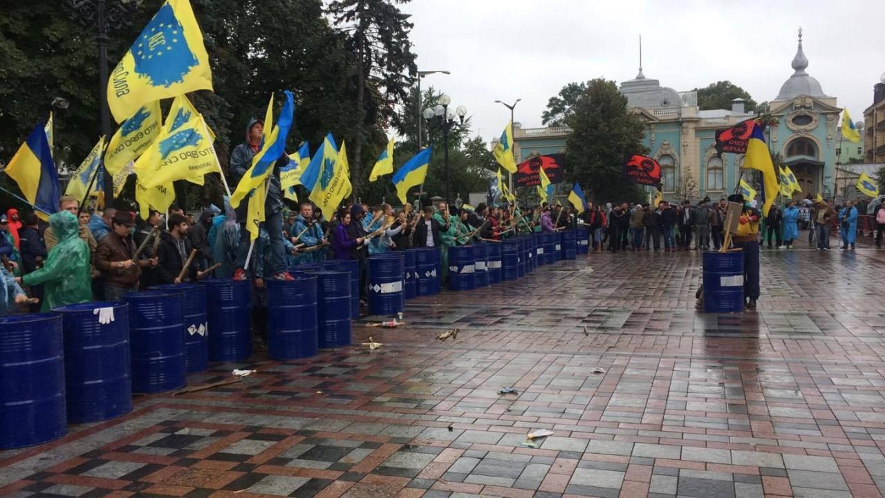 Киев трясет! Народ объявил о начале Майдана