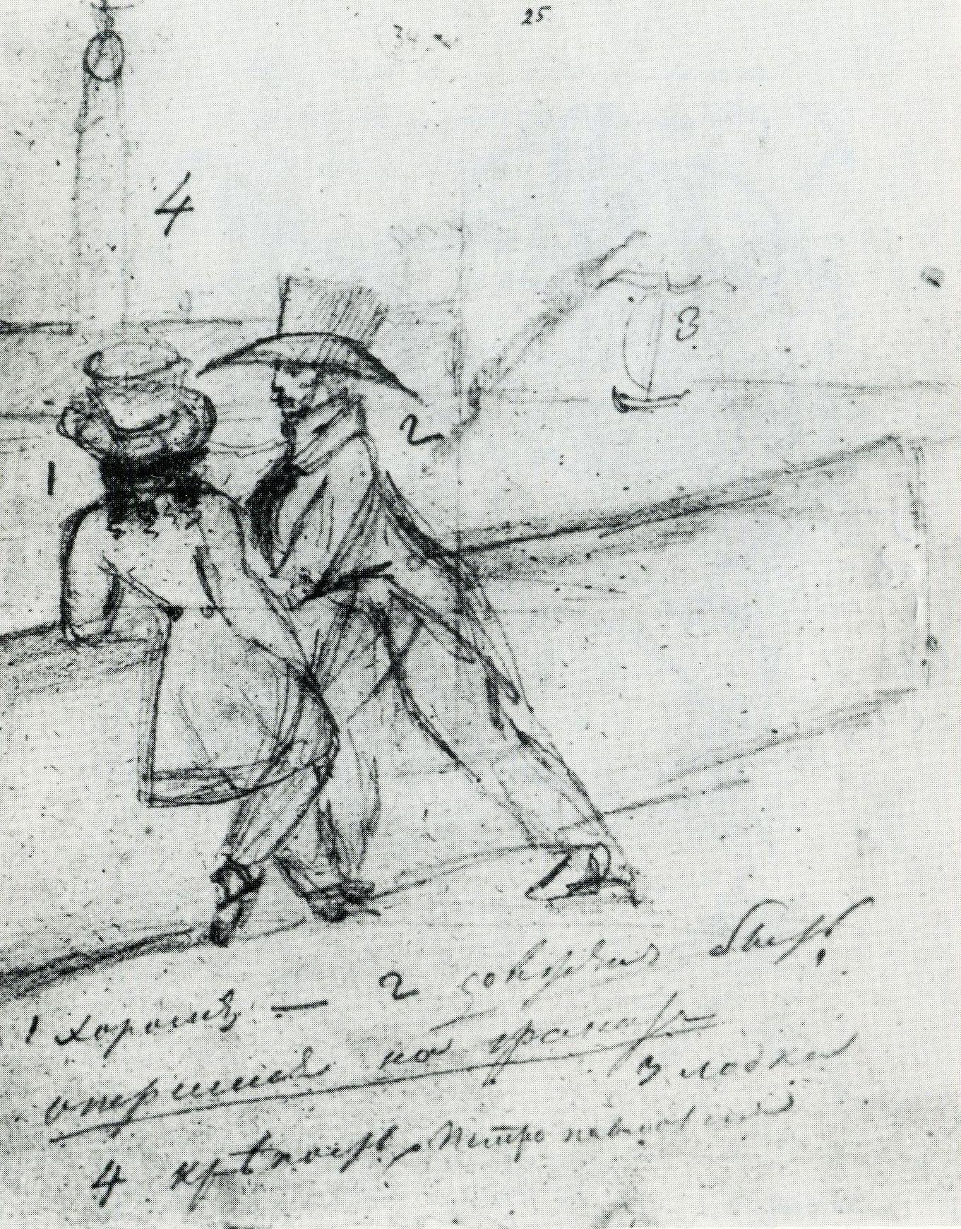 Зад Пушкина и титька Татьяны Лариной