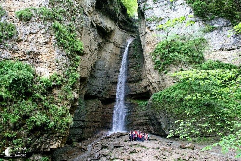 Красоты Кавказа - Чегемское ущелье