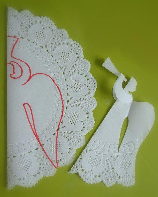 Салфетки из бумаги объёмные своими руками
