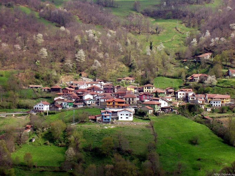 Понга, Астурия, Испания город, длиннопост, подборка, природа