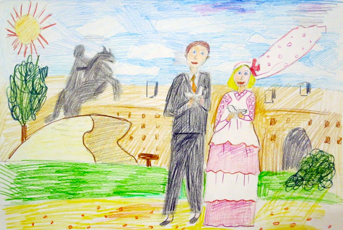 Дети о свадьбе