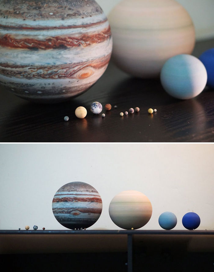 3D-Printed Solar Systems That Fit On Your Table